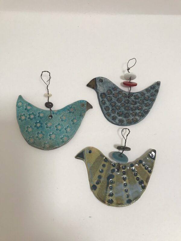 Bird tree decorations