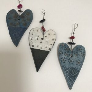 Heart tree decorations